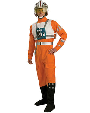X Wing Pilot Kostüm Star Wars