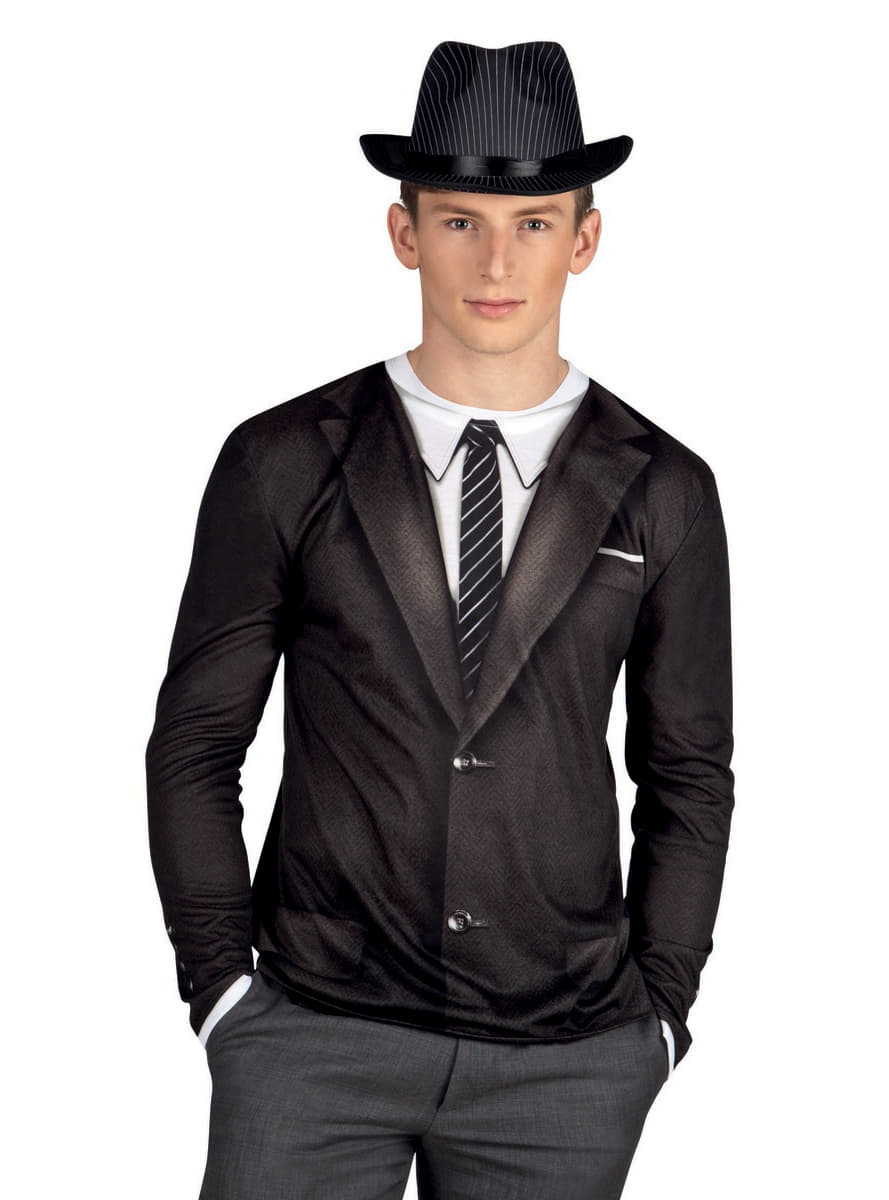 T shirt gangster ann e 20 homme pour d guisement funidelia - Costume homme annee 20 ...