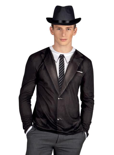 Bluzka gangster z lat 20. męska