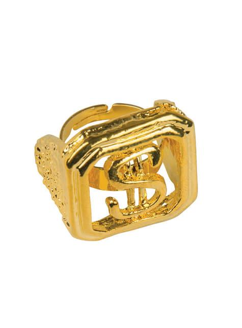 Adult's Pimp Dollar Ring