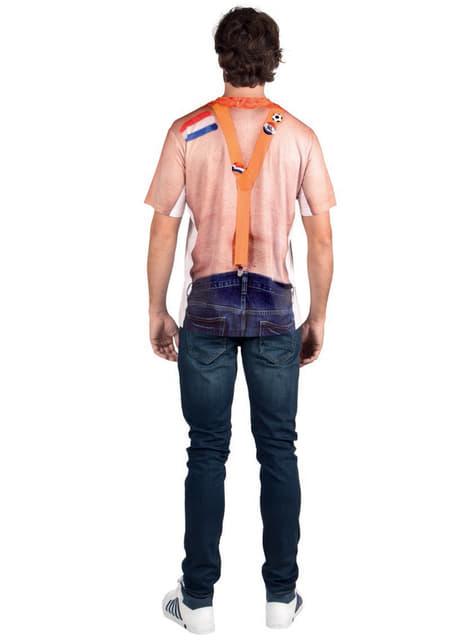Camiseta de hincha holandés para adulto - adulto