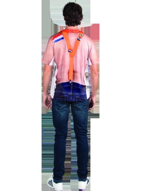 Camiseta de hincha holandés para adulto - original