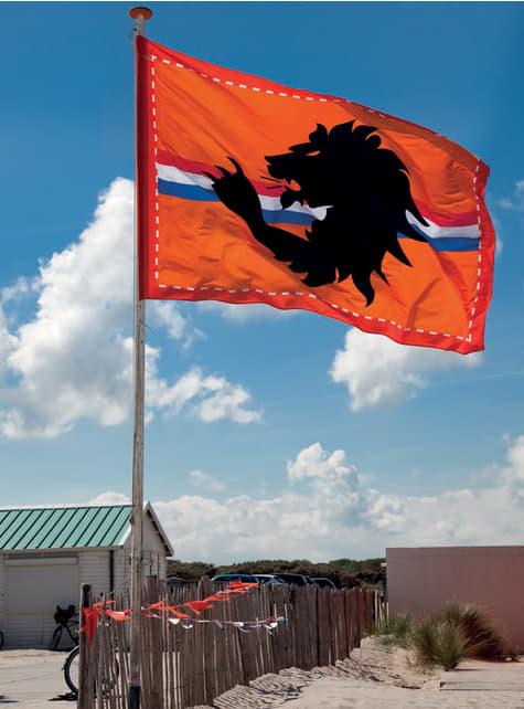 中央にオレンジ色のバンドとマキシトリコロールの国旗