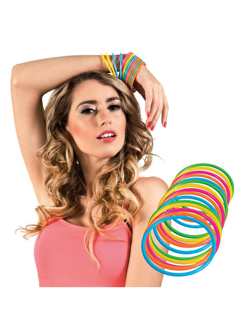 15 bracelets multi couleur adulte