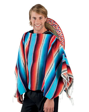 Mexicansk Poncho for Voksne