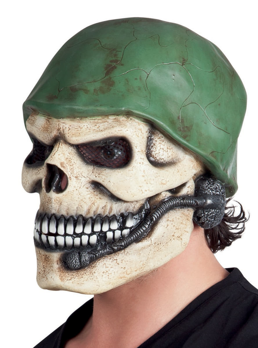 Adult S Skull Soldier Mask