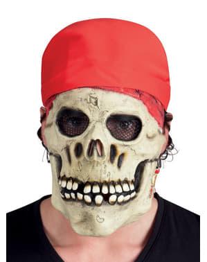 Masker Bajak Laut Skeleton Dewasa