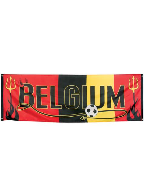 Cartel de Bélgica fútbol