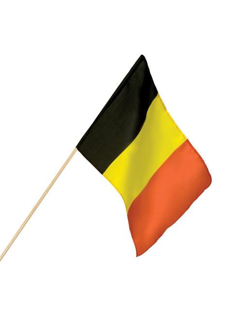 Bandera de Bélgica de mano