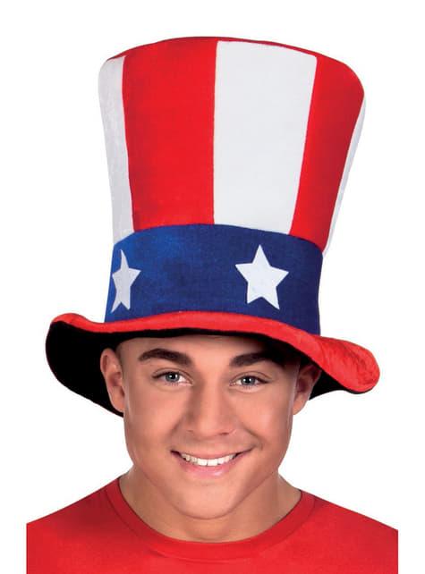 Sombrero del Tío Sam para adulto