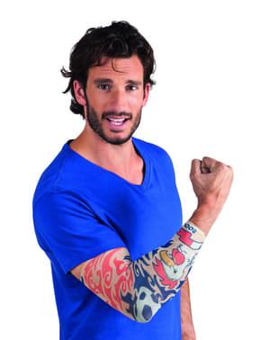 Tatuaje Allez les bleus para adulto