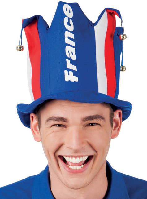 Sombrero Vive la France para adulto