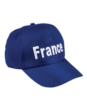 Czapka Francja dla dorosłych