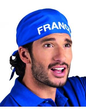 Bandanka Francja dla dorosłego