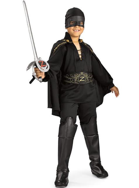 Strój Zorro dla chłopca