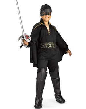 Disfraz de El Zorro para niño