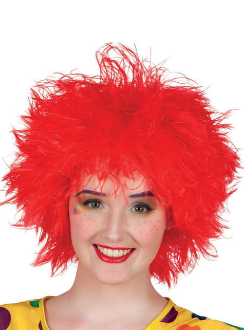 Woman's Messy Red Wig