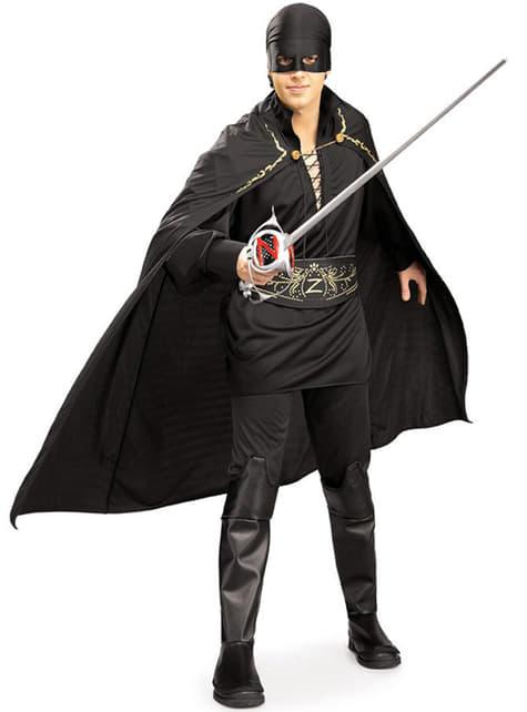 Zorro Kostyme Voksen