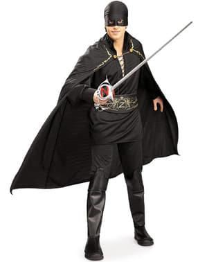 Fato de Zorro adulto