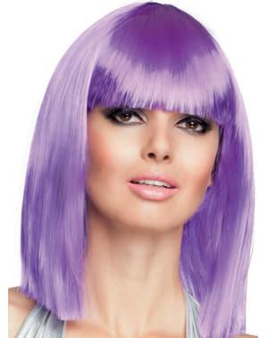 Perruque violette dance femme