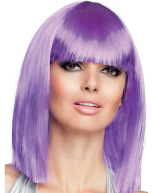 Woman's Purple Dance Wig