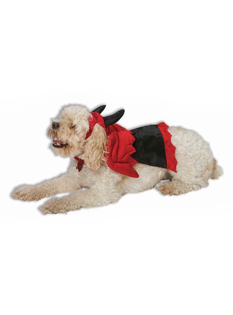 Fato de demónio para cão