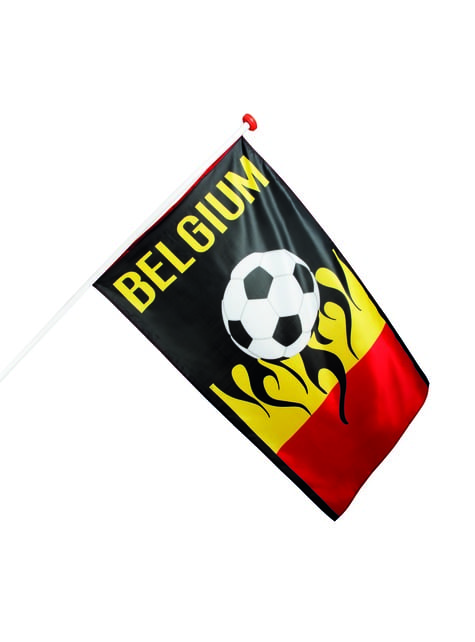Bandeira futebolística da Bélgica