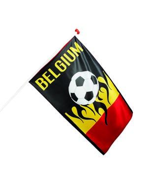 Bandera futbolera de Bélgica