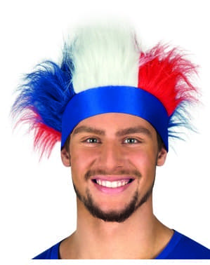 Sweatband with Tricolour French Hair
