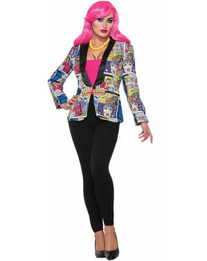 American Pop Art Jacke für Damen