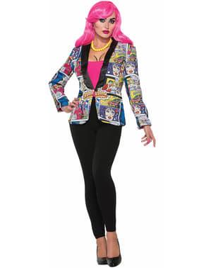 Veste de tailleur Pop Art femme