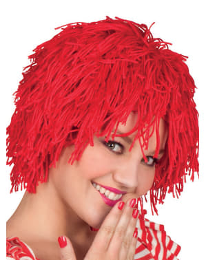 Rødhåret Ragdoll Parykk for Dame