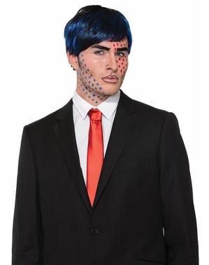 Чоловічий поп-арт перуку