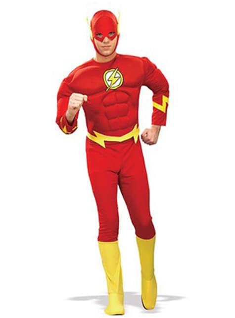 Flash κοστούμι ενηλίκων