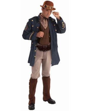 Generaal Steampunk Kostuum voor mannen