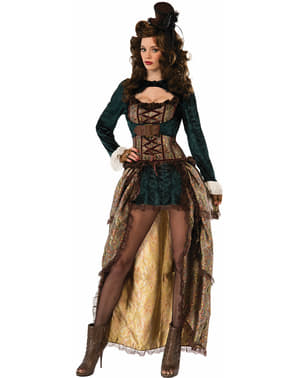 Dámsky sexy steampunkový kostým