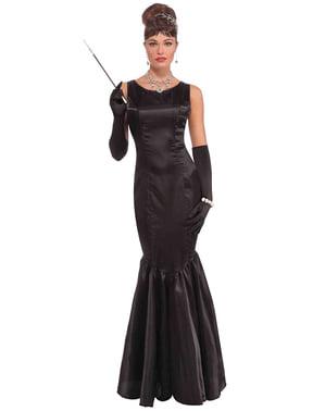 Costume da stella del cinema Audrey per donna