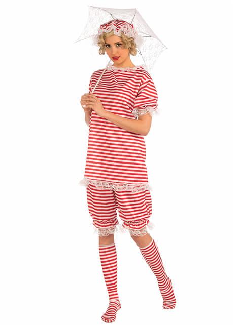 Bademeister Kostüm vintage für Damen