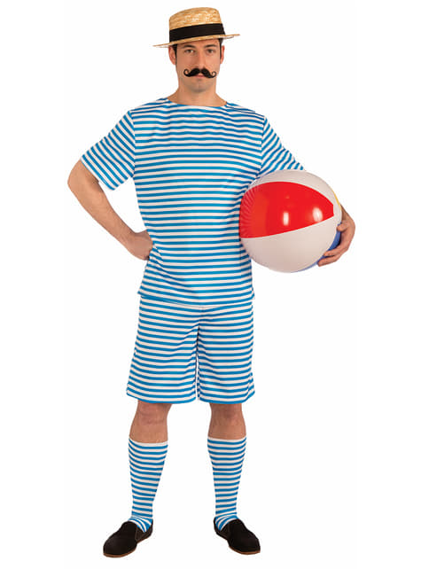 Men's Vintage Swimmer Costume