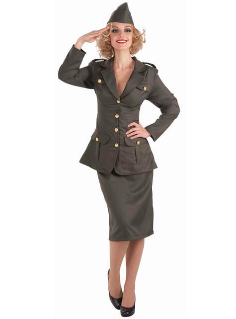 Disfraz de chica de la armada para mujer