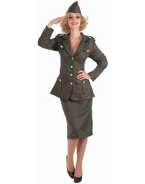 Militärmädchen Kostüm für Damen