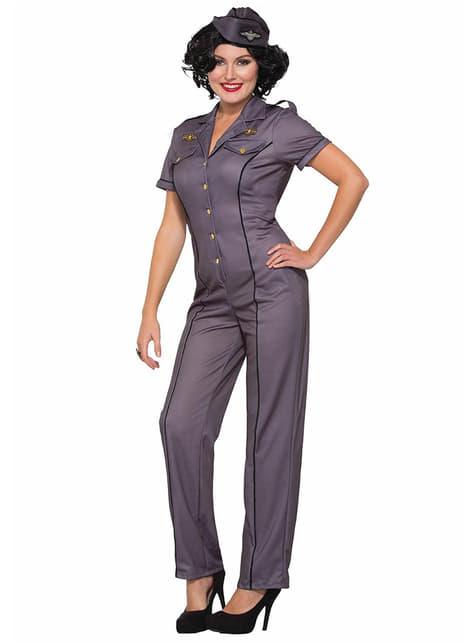 Air Force Kostuum voor vrouwen