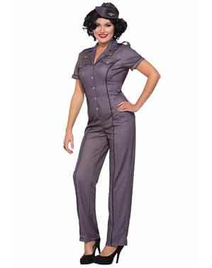 Disfraz de fuerzas aéreas para mujer