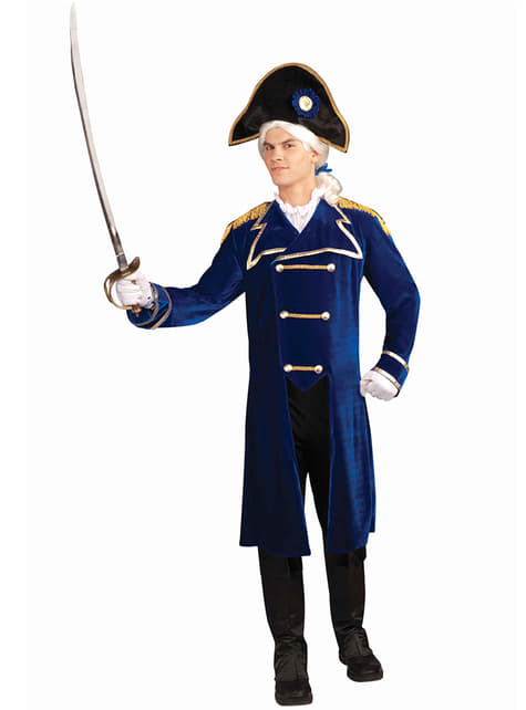 Disfraz de almirante para hombre