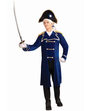 Admiralkostume til mænd