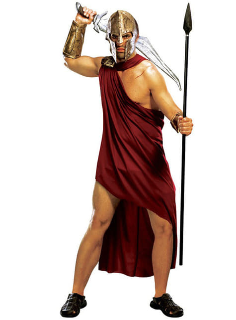 Spartansk Kostyme Voksen
