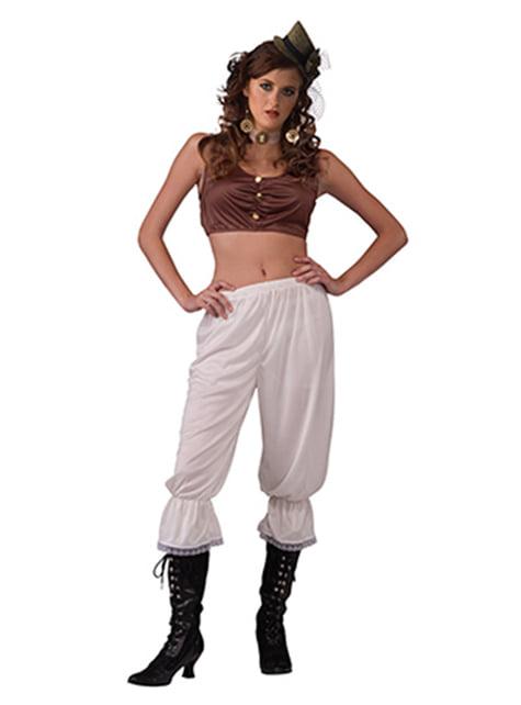 Pantalon lingerie Steampunk femme