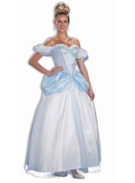 Blue Midnight Princess Costume for Women