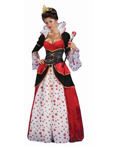 Costum regina de inimă malefică pentru femeie