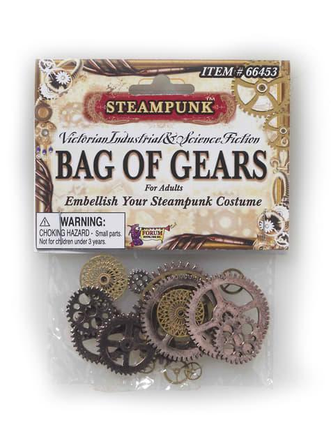 Set de engranajes Steampunk